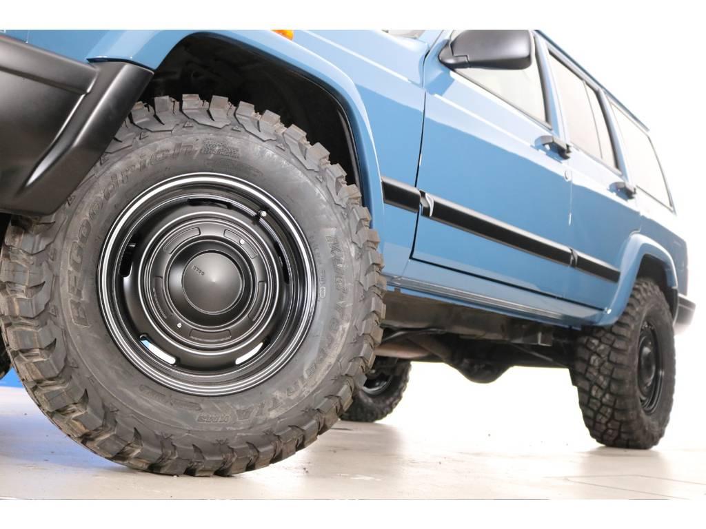 BF Goodrich Mud-terrain 255/75/16&DEANホイール(新品装着)