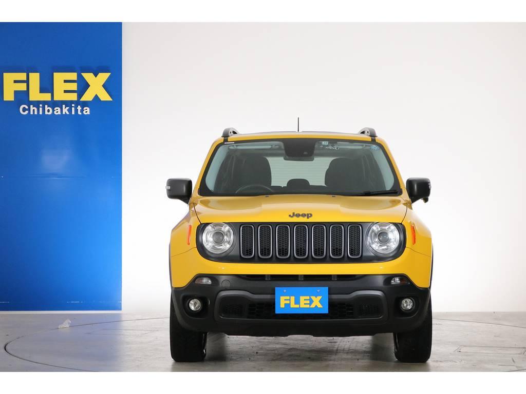 ジープレネゲードトレイルホーク 4WD電動サンルーフ フリーダムトップ千葉県の詳細画像その8