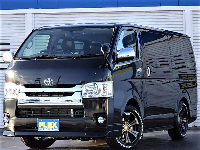 【新車ハイエースバンS-GL4WD寒冷地仕様車FLEXオリジナル内装架装ver.4】