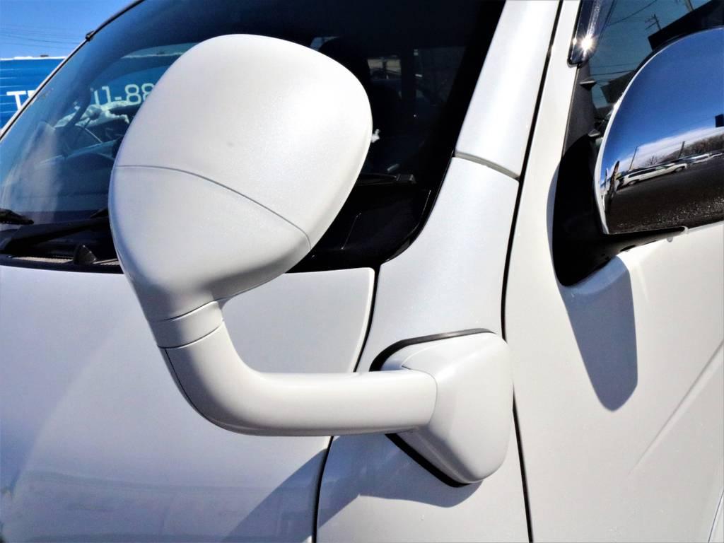アンダーミラー同色塗装! | トヨタ ハイエース 2.7 GL ロング ミドルルーフ 4WD 4型 20inダイナスティ 新品SDナビ