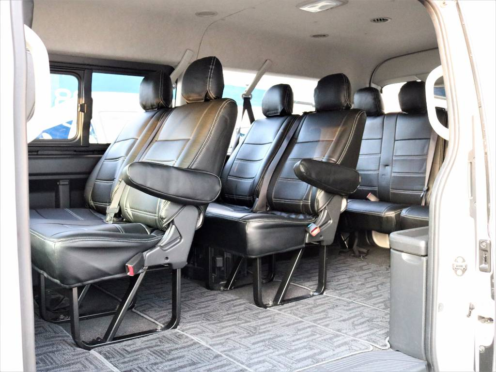ゆったり10人乗り! | トヨタ ハイエース 2.7 GL ロング ミドルルーフ 4WD 4型 20inダイナスティ 新品SDナビ