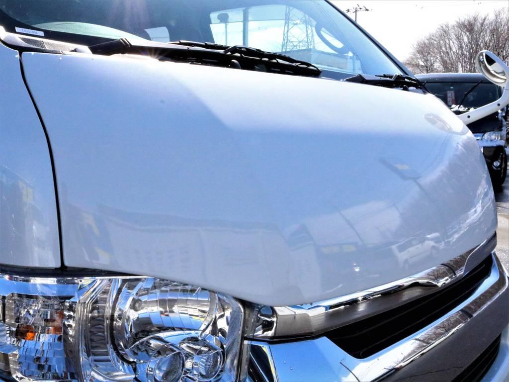新品415コブラ BY2ボンネット! | トヨタ ハイエース 2.7 GL ロング ミドルルーフ 4WD 4型 20inダイナスティ 新品SDナビ
