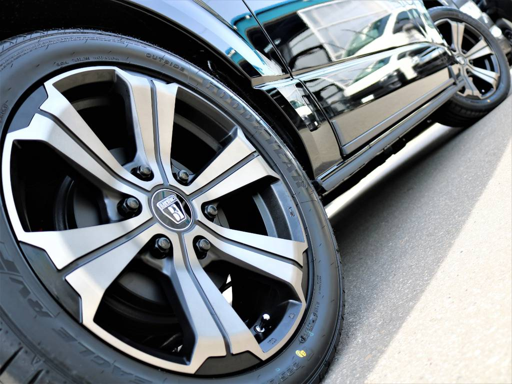 FLEXオリジナルカラー18inchバルベロアーバン! | トヨタ ハイエースバン 2.7 スーパーGL ワイド ロング ミドルルーフ 4WD FLEXオリジナル車中泊カスタム