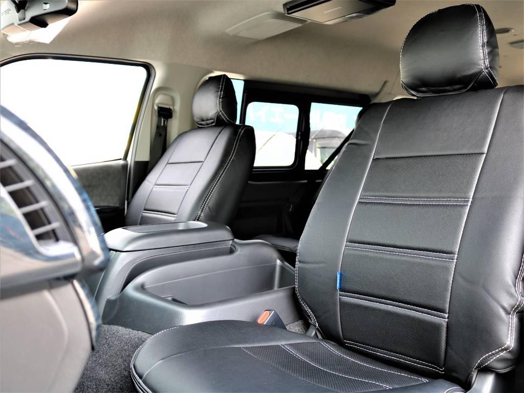 ゆったりひろびろ!リクライニング加工も承ります!   トヨタ ハイエース 2.7 GL ロング ミドルルーフ 4WD FLEX Ver1 ツインナビPKG