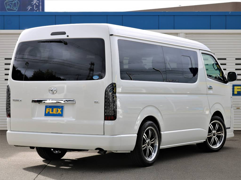 気になった方は当店TEL011-889-1166までお気軽にご連絡下さい!   トヨタ ハイエース 2.7 GL ロング ミドルルーフ 4WD FLEX Ver1 ツインナビPKG