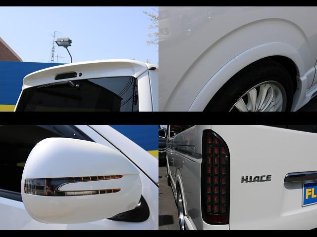 ウィンカーミラー!オブラインドフェンダー付き! | トヨタ ハイエースバン 3.0 スーパーGL  ダークプライム ロングボディ ディーゼルターボ