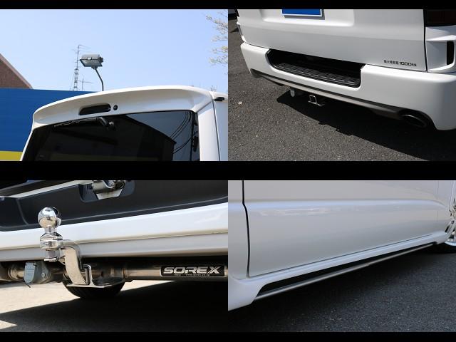 SOREXヒッチメンバー付き! | トヨタ ハイエースバン 3.0 スーパーGL  ダークプライム ロングボディ ディーゼルターボ