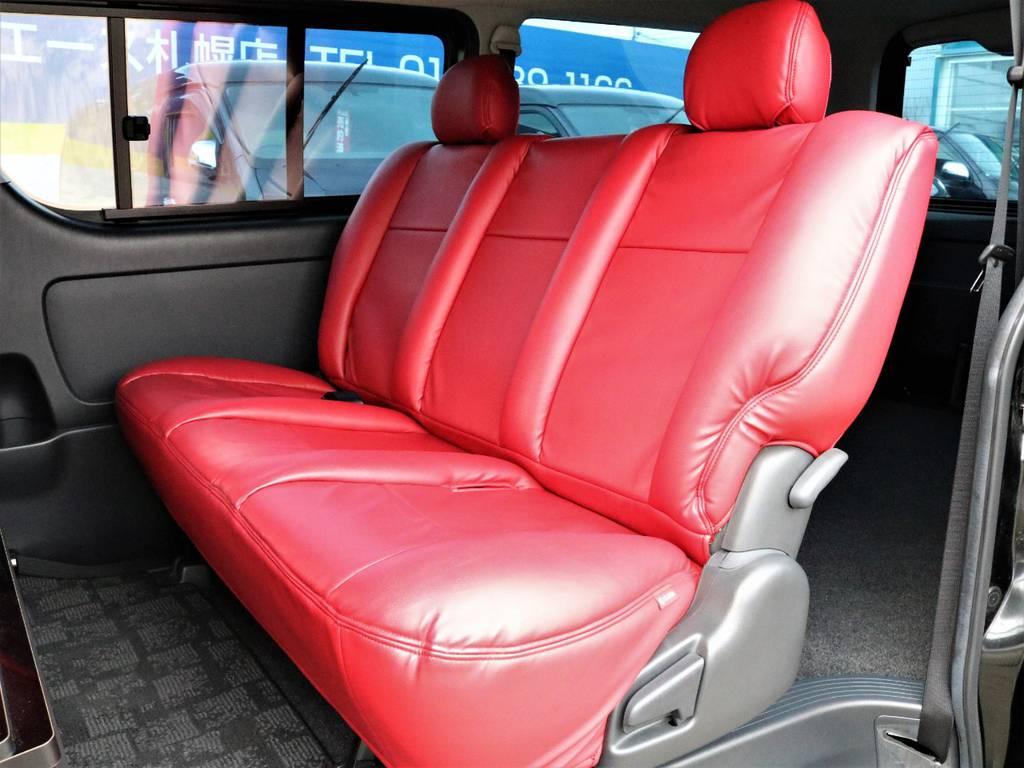 座り心地がとてもいいですよ!   トヨタ レジアスエース 3.0 スーパーGL ロングボディ ディーゼルターボ 4WD TSDフルエアロ新品ゼロブレイクフォース