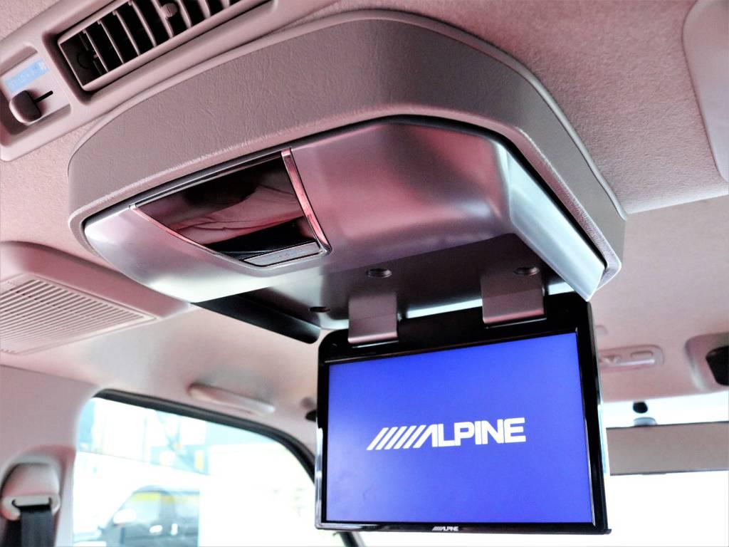 アルパインフリップダウンモニター!   トヨタ レジアスエース 3.0 スーパーGL ロングボディ ディーゼルターボ 4WD TSDフルエアロ新品ゼロブレイクフォース