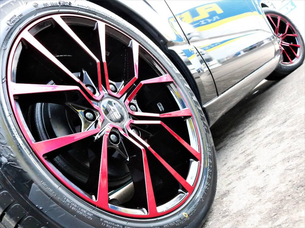 新品AKUTゼロブレイクFORCE 18inch!ブラックキャンディーレッドポリッシュ!   トヨタ レジアスエース 3.0 スーパーGL ロングボディ ディーゼルターボ 4WD TSDフルエアロ新品ゼロブレイクフォース