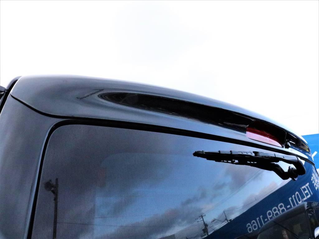 415コブラ リアスポイラー!   トヨタ レジアスエース 3.0 スーパーGL ロングボディ ディーゼルターボ 4WD TSDフルエアロ新品ゼロブレイクフォース