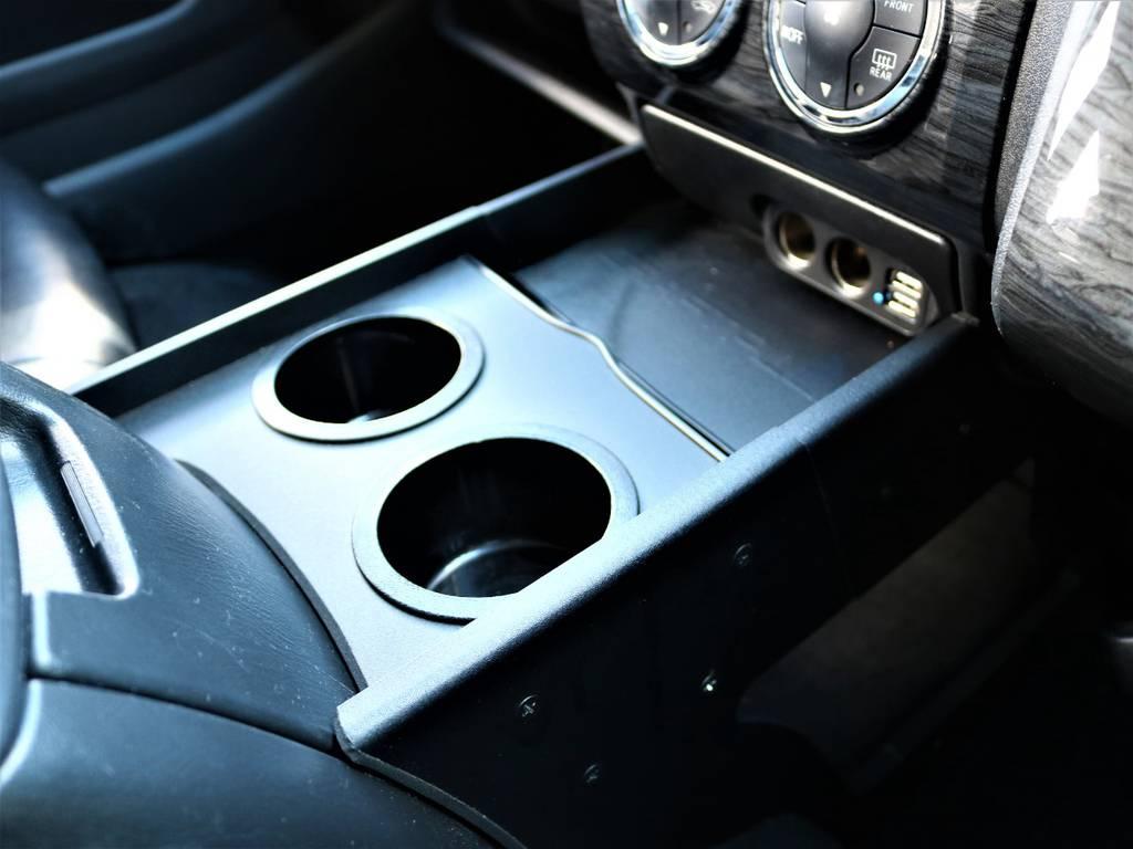 クラフトプラス センターコンソールボックス! | トヨタ レジアスエース 3.0 スーパーGL ロングボディ ディーゼルターボ 4WD 16inバルベロ ベッド フリップダウン