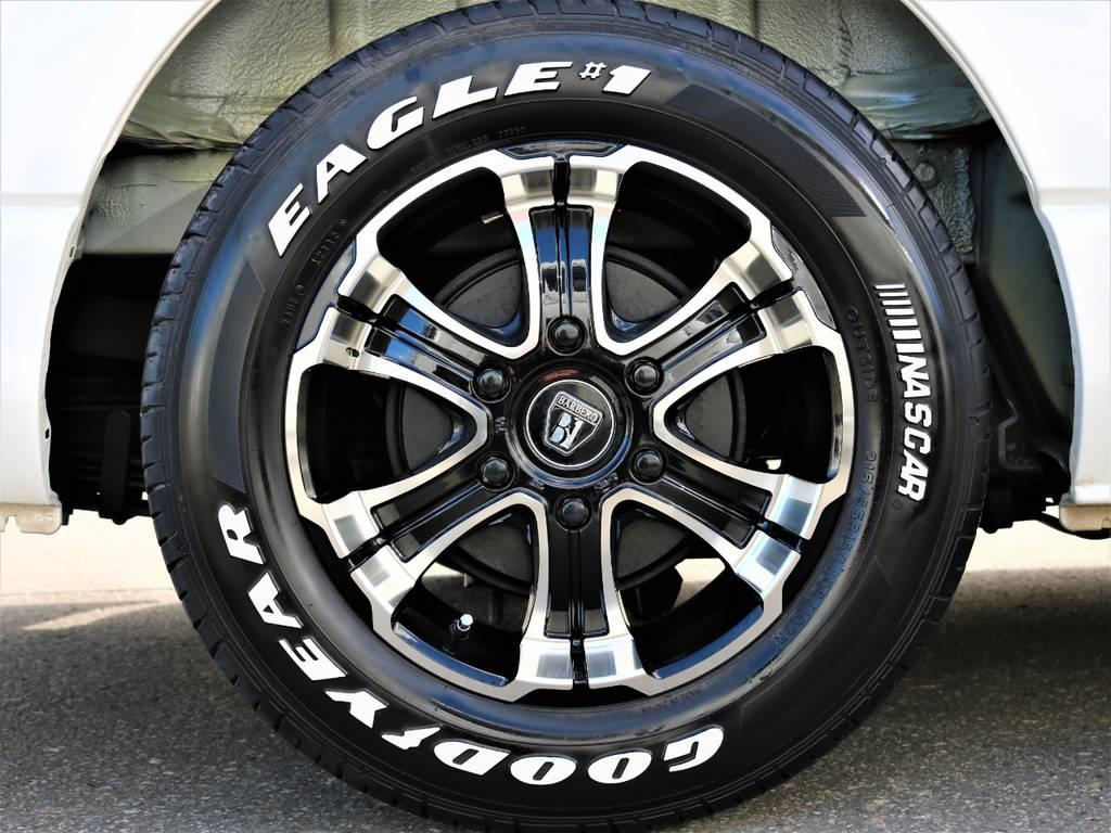 16inchバルベロディープス&ナスカータイヤ! | トヨタ レジアスエース 3.0 スーパーGL ロングボディ ディーゼルターボ 4WD 16inバルベロ ベッド フリップダウン