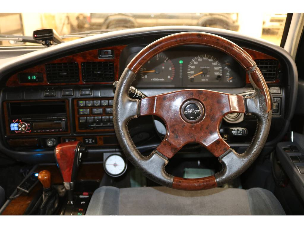 社外ウッドハンドル&ウッドシフトノブ☆ | トヨタ ランドクルーザー80 4.2 VXリミテッド ディーゼルターボ 4WD