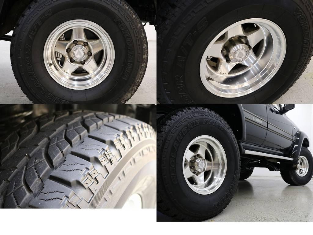 ザイジックス16インチAW×ヨコハマジオランダーATタイヤ☆ | トヨタ ランドクルーザー80 4.2 VXリミテッド ディーゼルターボ 4WD