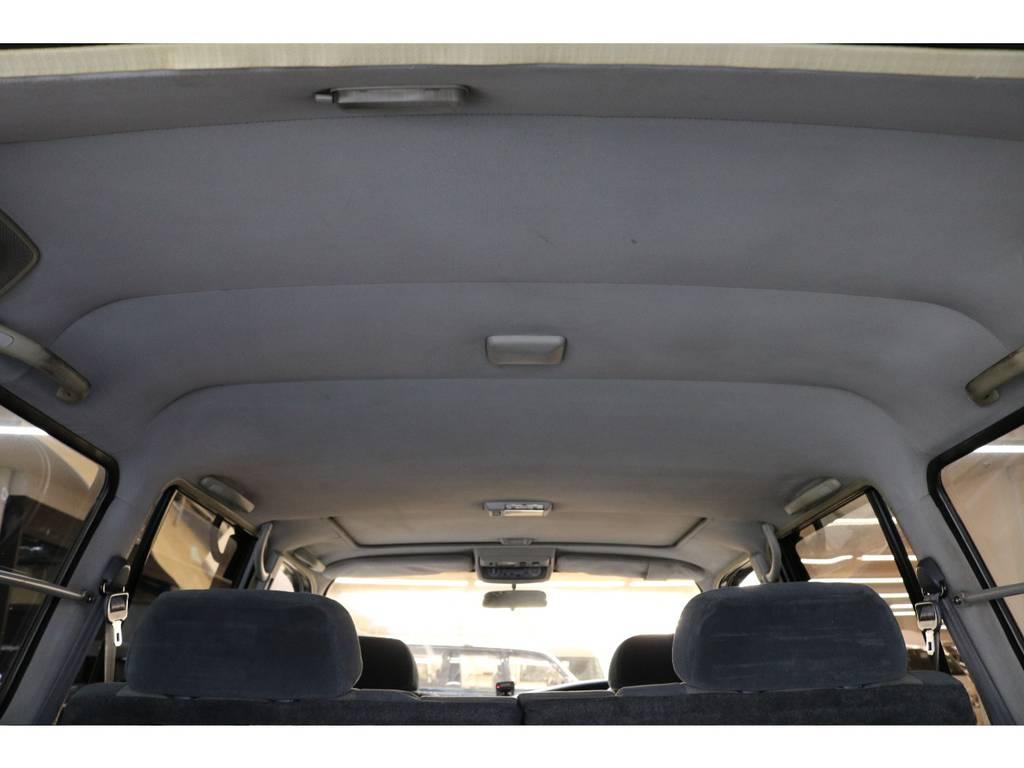 天張りになります☆ | トヨタ ランドクルーザー80 4.2 VXリミテッド ディーゼルターボ 4WD