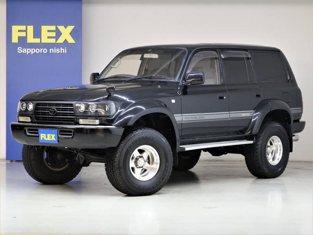 平成5年式ランドクルーザー80VXリミテッド4200ディーゼルターボ☆ | トヨタ ランドクルーザー80 4.2 VXリミテッド ディーゼルターボ 4WD