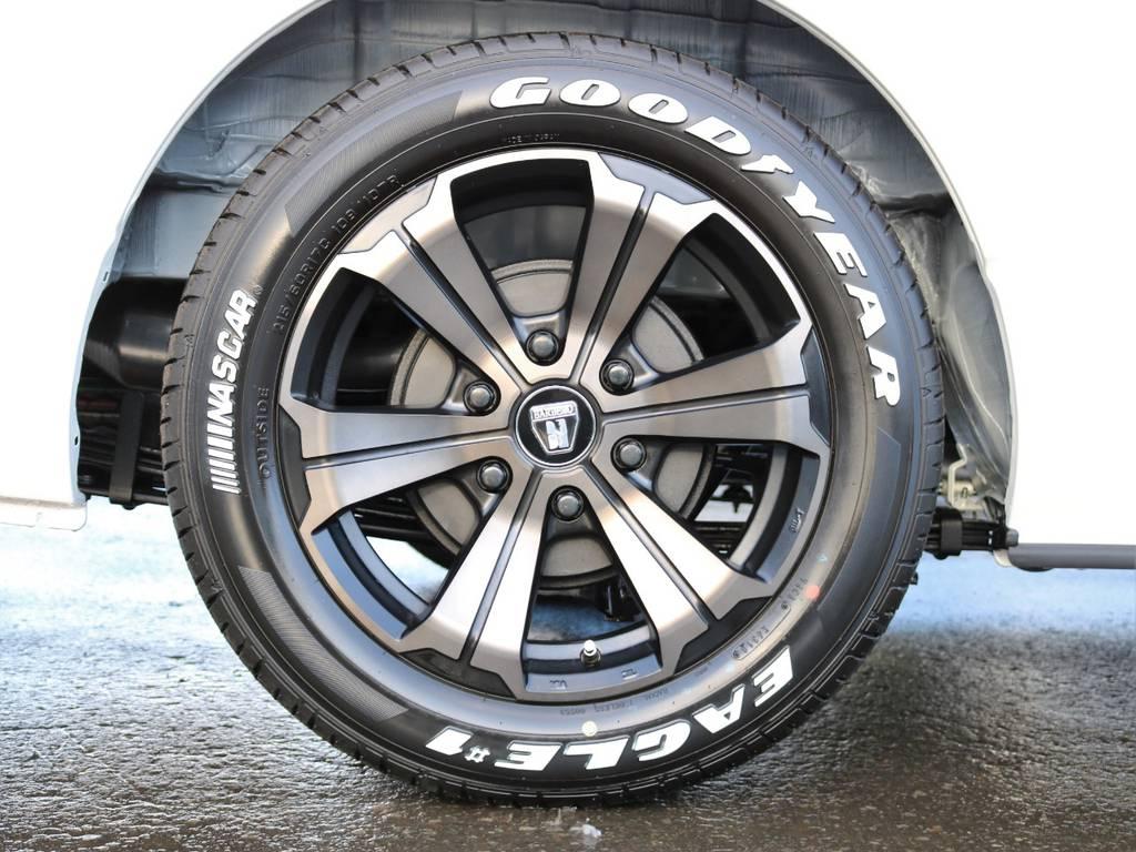 FLEXオリジナルカラー バルベロ アーバングランデ17in! | トヨタ ハイエースバン 2.8 スーパーGL ダークプライムⅡ ロングボディ ディーゼルターボ 4WD フローリング&ベッドパッケージ