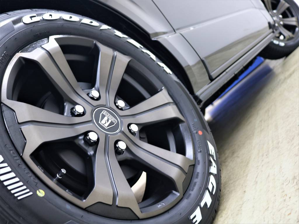 | トヨタ ハイエースバン 2.8 スーパーGL ダークプライムⅡ ロングボディ ディーゼルターボ 4WD 床張り施工 アルパインBIG-X
