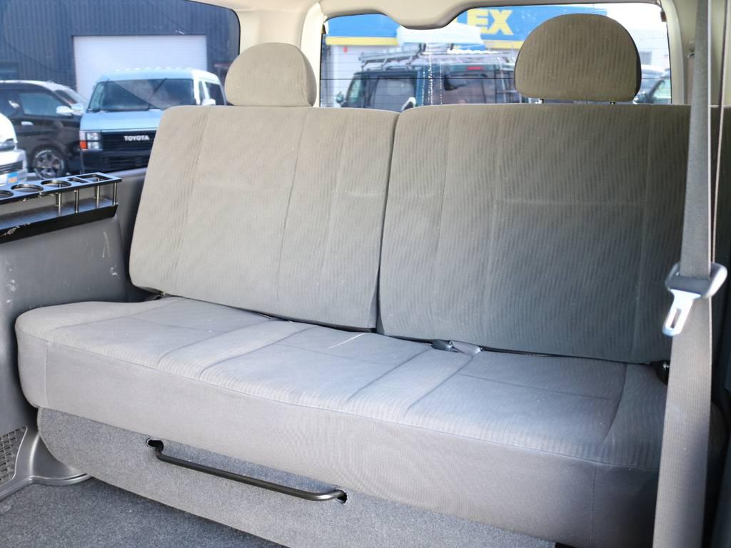 3人掛けシート増設!うれしい8人乗りディーゼルターボです! | トヨタ ハイエースバン 3.0 スーパーGL ロング ディーゼルターボ 4WD