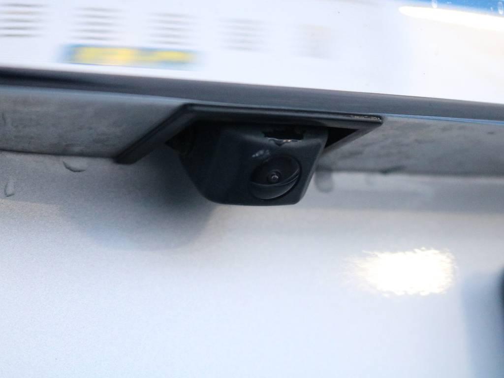 バックカメラ搭載!駐車時の運転も安心です! | トヨタ ハイエース 2.7 GL ロング ミドルルーフ 4WD 内装架装車輌