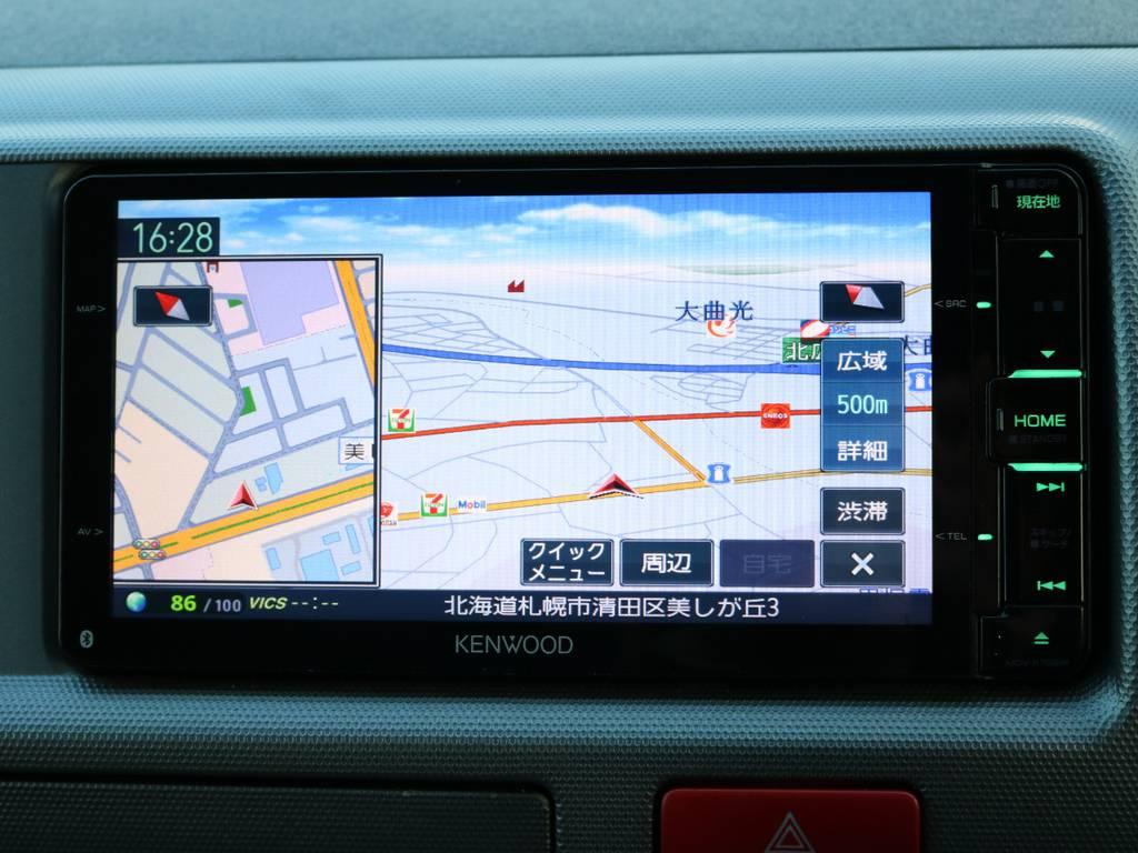 KENWOOD SDナビ搭載! | トヨタ ハイエース 2.7 GL ロング ミドルルーフ 4WD 内装架装車輌
