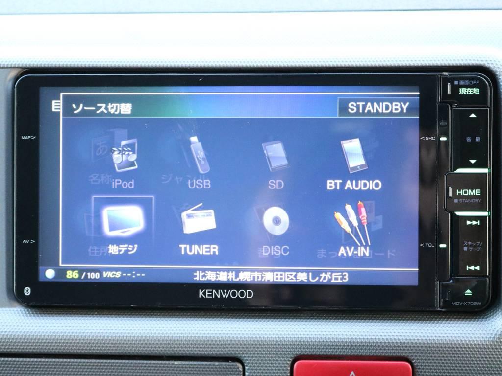フルセグTV/Bluetooth接続/CD/DVD | トヨタ ハイエース 2.7 GL ロング ミドルルーフ 4WD 内装架装車輌