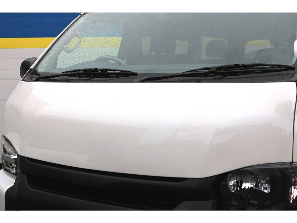 ボクシーボンネット | トヨタ ハイエースバン 2.7 スーパーGL ダークプライム ワイド ミドルルーフ ロングボディ 下取り直販!調布店発!ワンオーナー車!