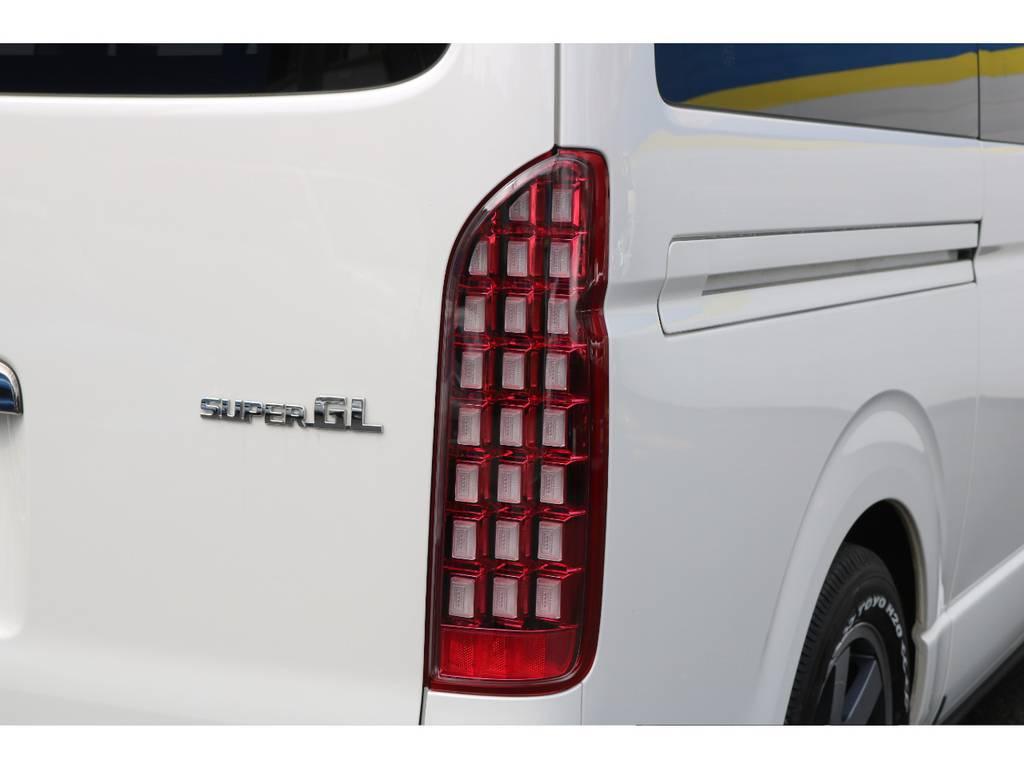 LEDテール | トヨタ ハイエースバン 2.7 スーパーGL ダークプライム ワイド ミドルルーフ ロングボディ 下取り直販!調布店発!ワンオーナー車!