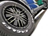 FLEXオリジナルDelf-MF01アルミホイール16inとGOODYEARナスカータイヤの組み合わせ!