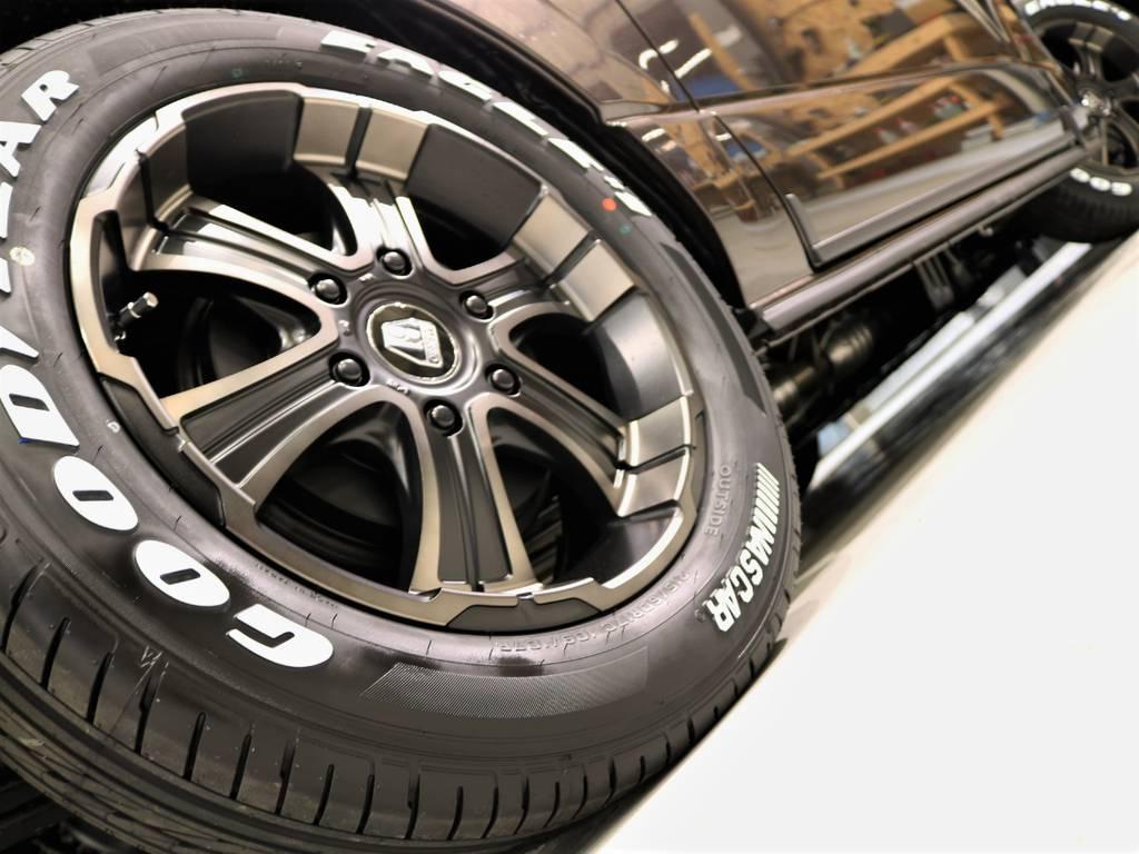 FLEXオリジナルバルベロディープスとナスカータイヤの組み合わせ!
