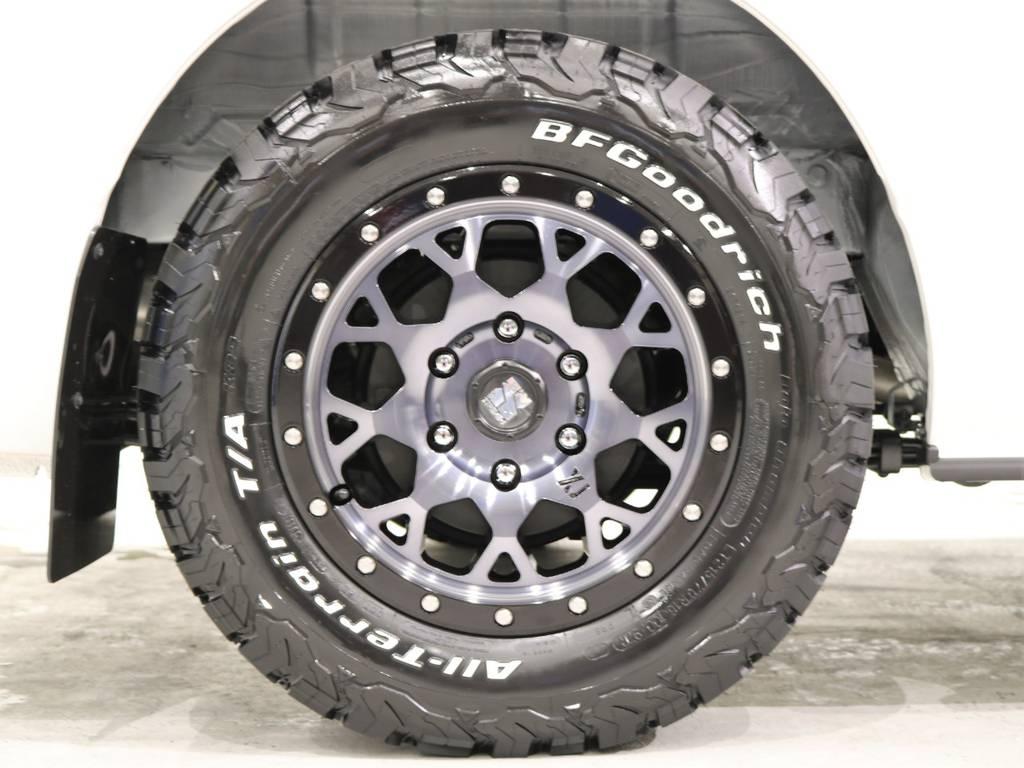 エクストリームJ04アルミホイールが冴えますよ! | トヨタ ハイエースバン 2.8 スーパーGL ダークプライムⅡ ロングボディ ディーゼルターボ 4WD ベッドキッド&ワイルドカスタム