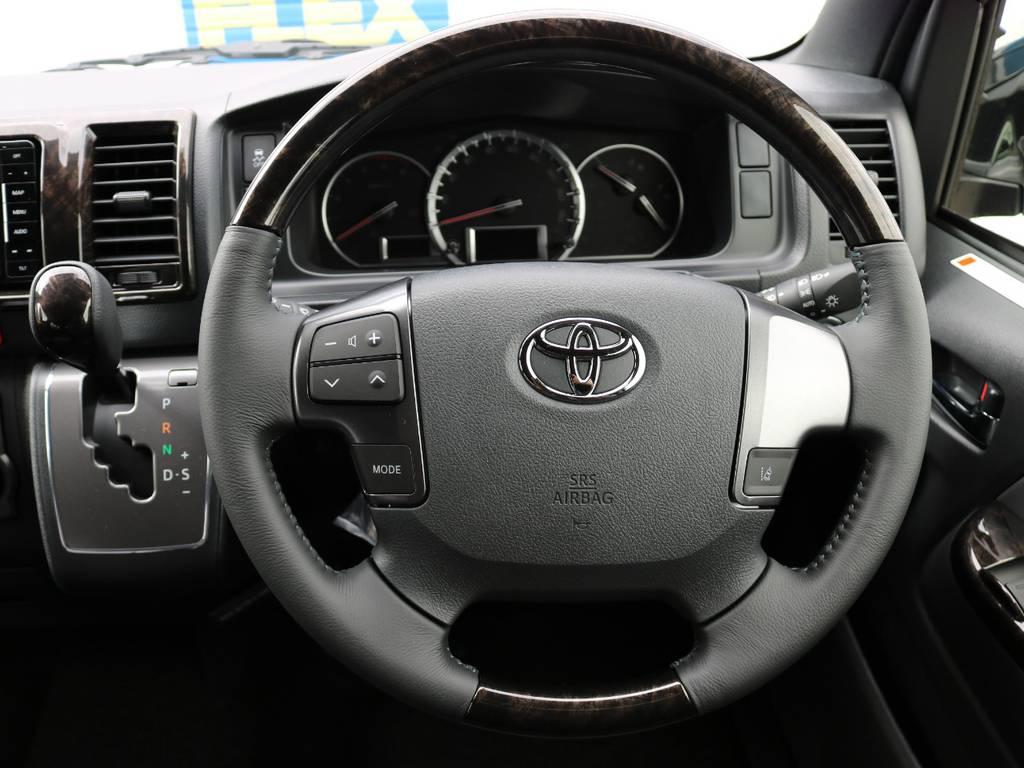特別仕様車専用デザインとなっております。 | トヨタ ハイエースバン 2.8 スーパーGL ダークプライムⅡ ロングボディ ディーゼルターボ 4WD ベッドキッド&ワイルドカスタム