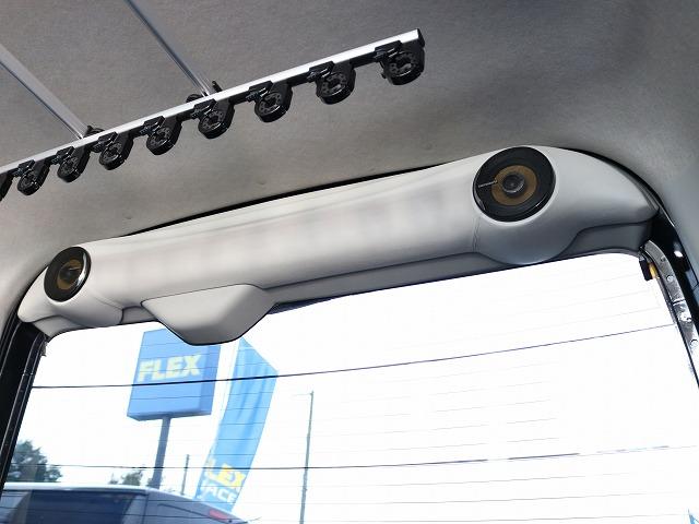 リアゲートスピーカー! | トヨタ レジアスエース 2.7 スーパーGL ワイド ミドルルーフ ロングボディ 4WD 8ナンバー