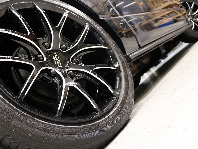 足元はM-Techno SSL6アルミホイール18in! | トヨタ レジアスエース 2.7 スーパーGL ワイド ミドルルーフ ロングボディ 4WD 8ナンバー