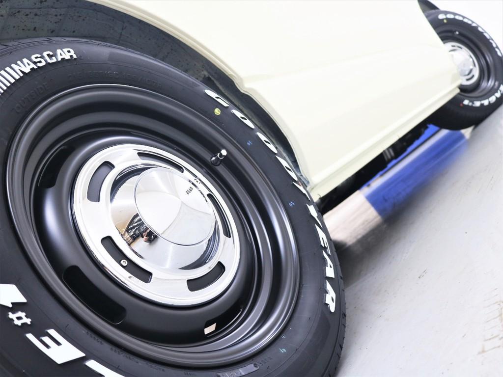 16inchディーンクロスカントリーAW&グッドイヤーナスカータイヤ!