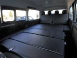 フルフラット展開可能な車中泊パッケージとなっております!