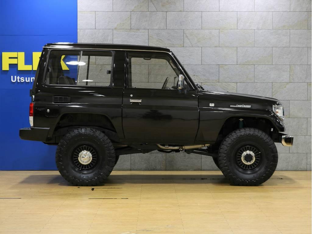 2インチリフトアップ!追加カスタムもお気軽にご相談下さい。 | トヨタ ランドクルーザープラド 3.0 SXワイド ディーゼルターボ 4WD 5MTのショートボディー