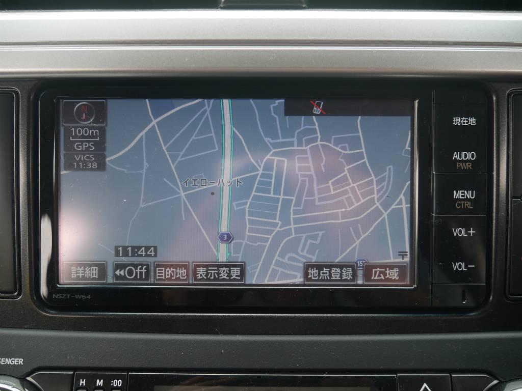 純正ナビはTVの視聴も可能です! | トヨタ ランドクルーザープラド 2.8 TX ディーゼルターボ 4WD