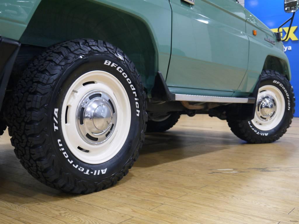 新品にてDEAN16インチAW&BFグッドリッチオールテレーンタイヤ!ホイールはオフホワイト塗装! | トヨタ ランドクルーザープラド 3.0 SX ディーゼルターボ 4WD