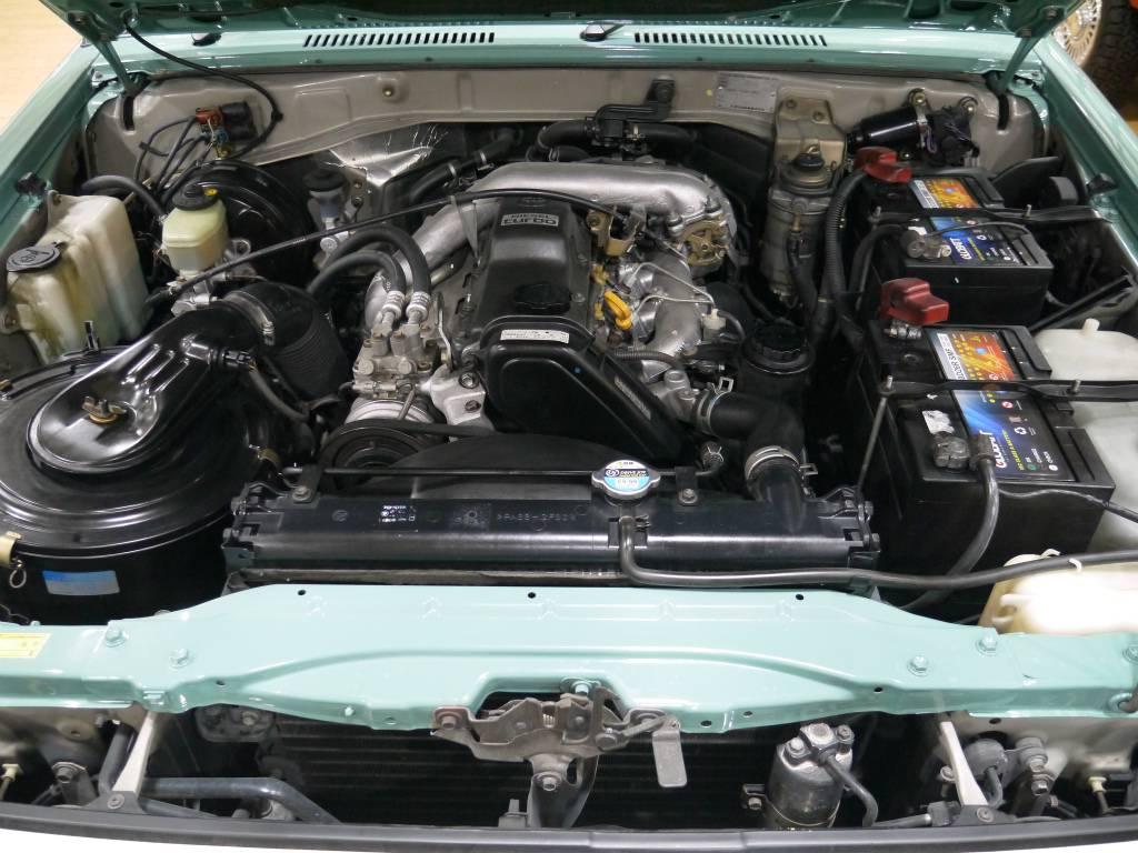 耐久性に優れた安心の1KZエンジン!寒冷地仕様! | トヨタ ランドクルーザープラド 3.0 SX ディーゼルターボ 4WD