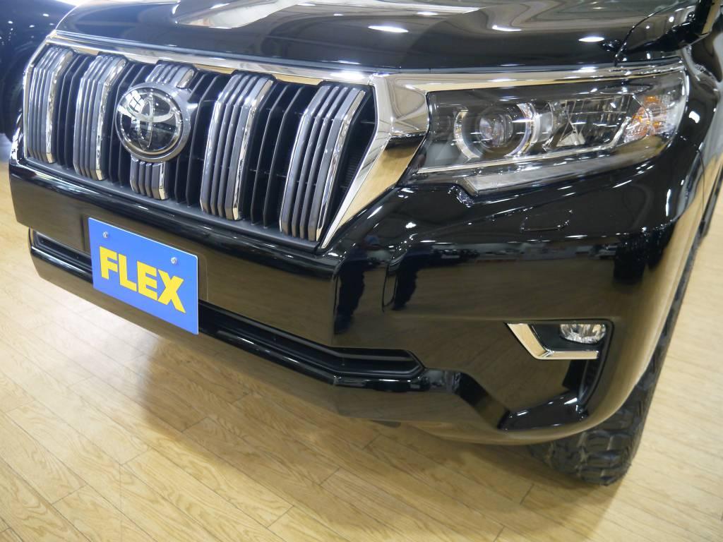 フロントフェイスはシュッとしたスポーティーなスタイルです! | トヨタ ランドクルーザープラド 2.7 TX 4WD 新車未登録 5人乗