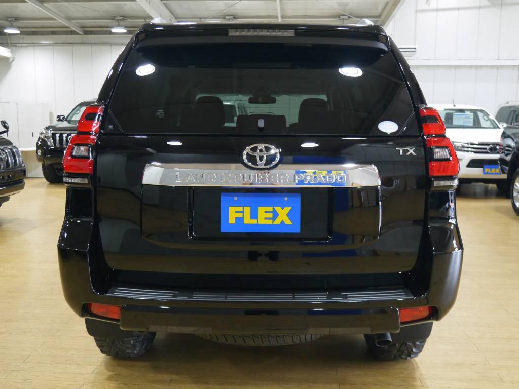 リアビュー | トヨタ ランドクルーザープラド 2.7 TX 4WD 新車未登録 5人乗