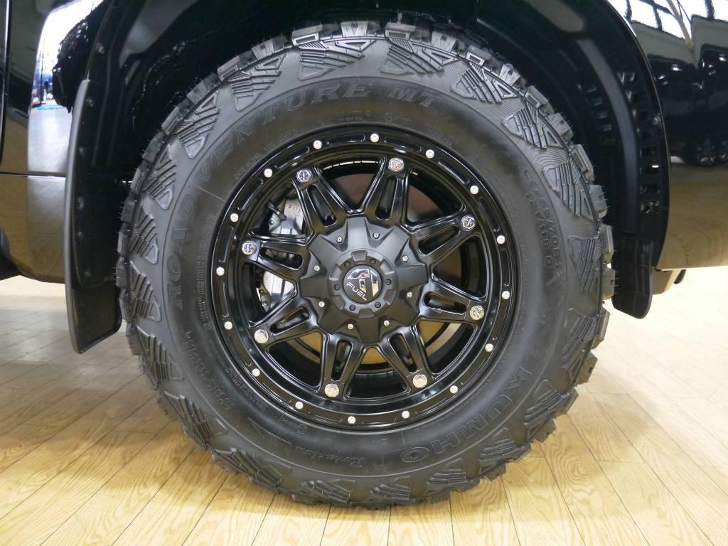 新品FUEL17インチAW | トヨタ ランドクルーザープラド 2.7 TX 4WD 新車未登録 5人乗