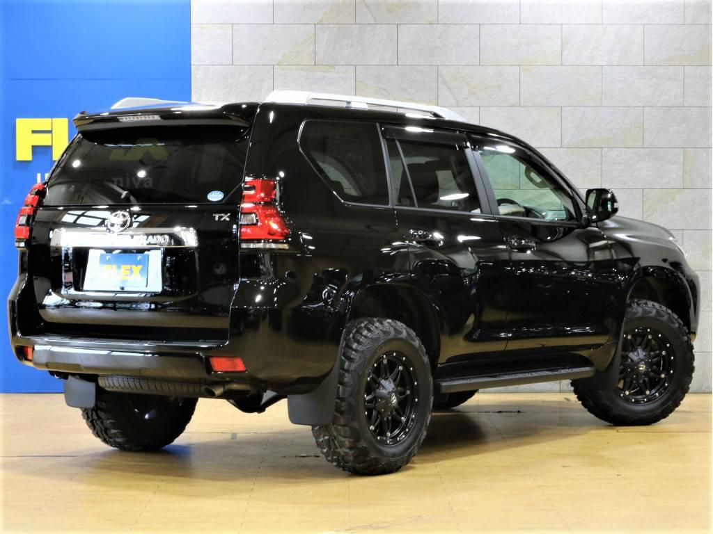 リアゲートは横開きドアです! | トヨタ ランドクルーザープラド 2.7 TX 4WD 新車未登録 5人乗