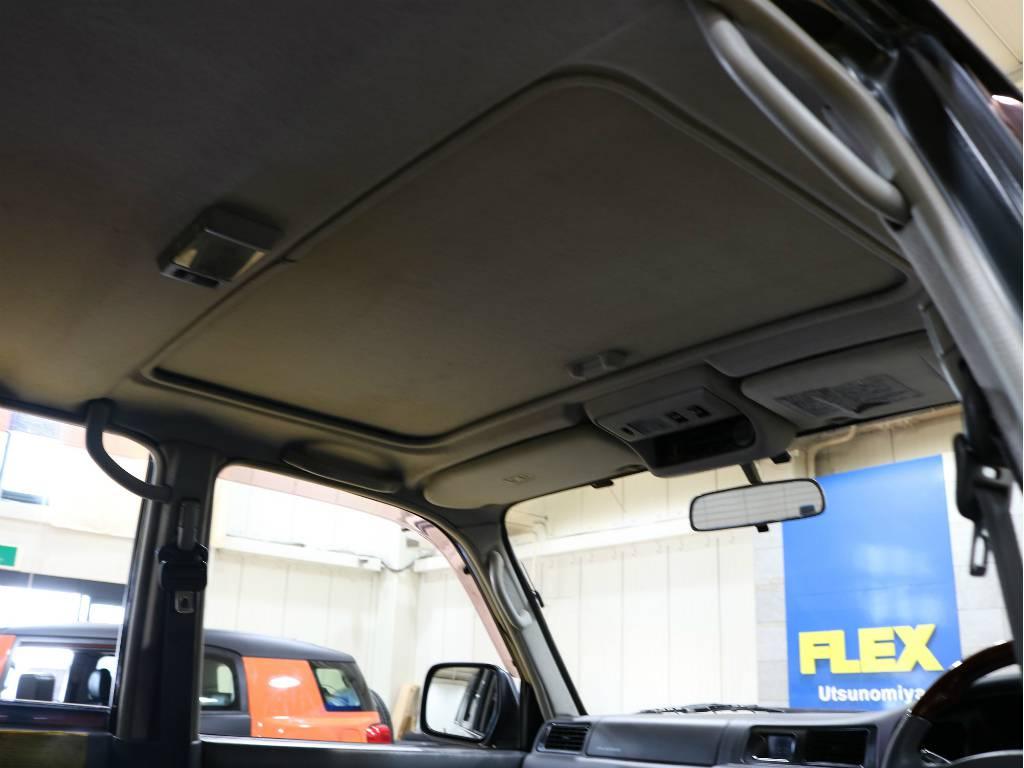サンルーフも装備しております! | トヨタ ランドクルーザー80 4.2 VX ディーゼルターボ 4WD 最終モデル 純正ブラック