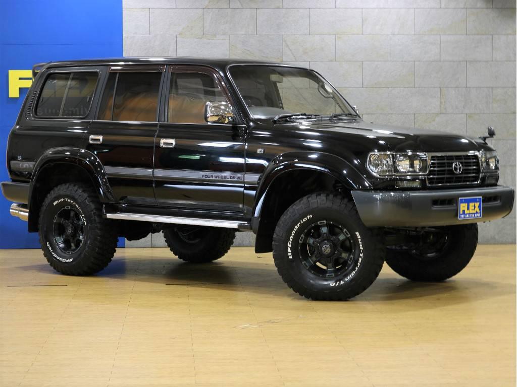 1ナンバーですので、維持費も安心です! | トヨタ ランドクルーザー80 4.2 VX ディーゼルターボ 4WD 最終モデル 純正ブラック