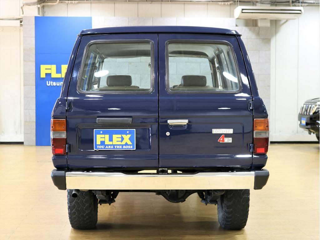 リアビュー   トヨタ ランドクルーザー60 3.4 観音扉 ディーゼル 4WD
