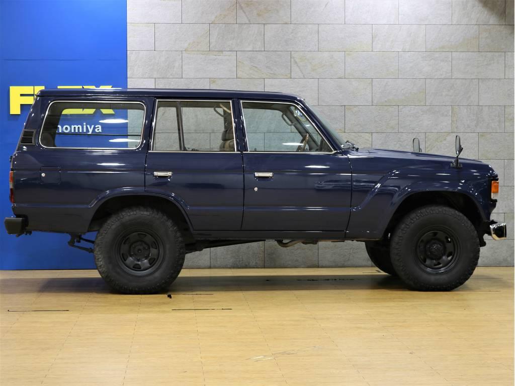 ノーマル車高!リフトアップやリーフ交換などのカスタムもお気軽にご相談下さい。   トヨタ ランドクルーザー60 3.4 観音扉 ディーゼル 4WD