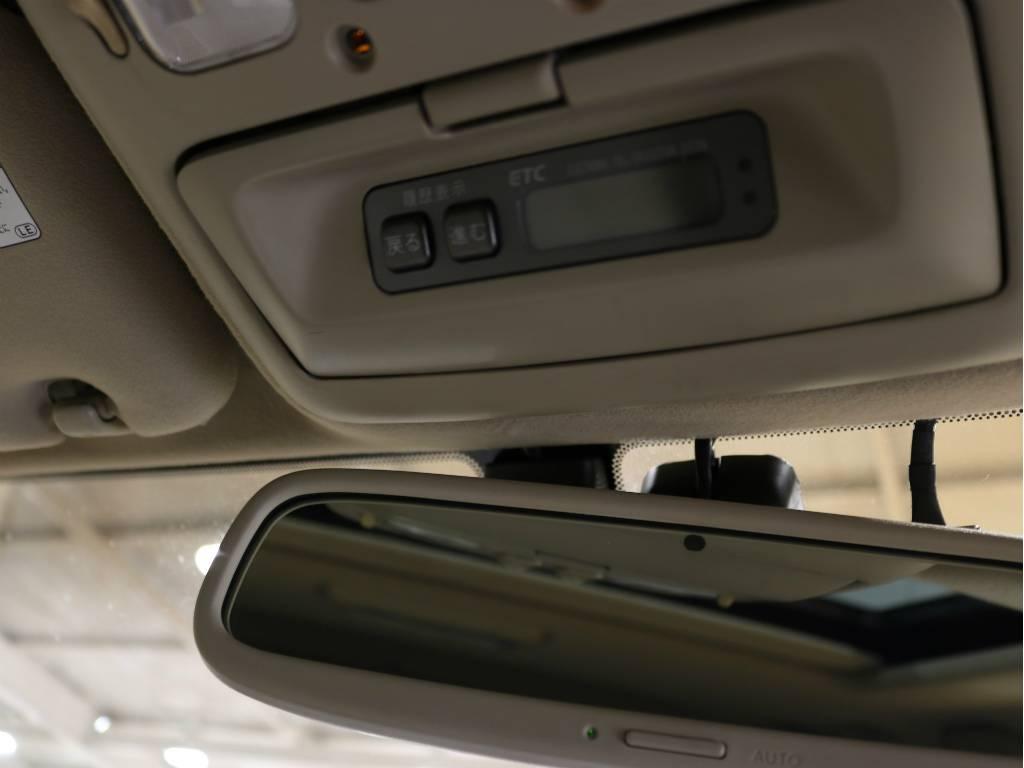 ビルトインETCです! | トヨタ ランドクルーザーシグナス 4.7 4WD プッシュスタート セキュリティー